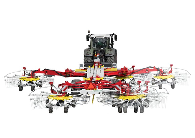pottinger TOP-centre-swath-rakes-with-four-rotors
