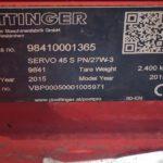 Pottinger 4 Furrow Reversible Mouldboard Plough